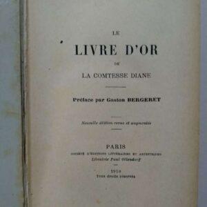 Le livre d'or, de la comesse Diane