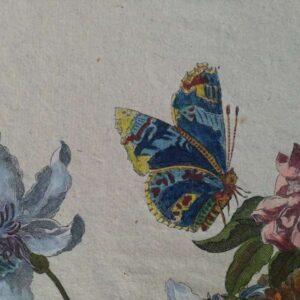 Bloemenkorf door Jean-Baptiste Monnoyer