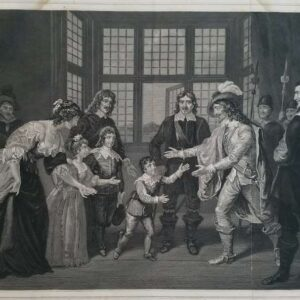 Farewell to Charles I of His Children by Johannes Best