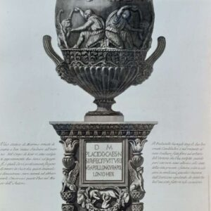 Vaso antico door Giovanni Battista Piranesi