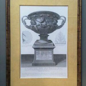 Veduta di prospettiva di un antico vaso door Giovanni Battista Piranesi