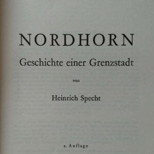 Nordhorn, Geschichte einer Grenzstadt, Heinrich Specht