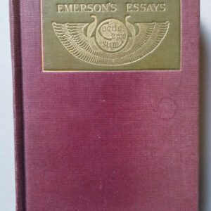 Emerson's essays second series, Ralph Waldo Emerson