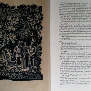 De genius van de zang door Novalis + Het woud der ellende, Servisch volksverhaal