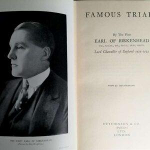 Beroemde processen door de eerste graaf van Birkenhead