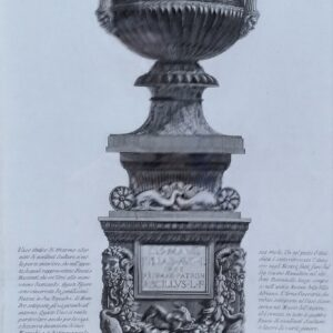 Antico vaso di marmoro door Giovanni Battista Piranesi