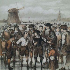 De prins en Johan de Witt door P.J. Andriessen