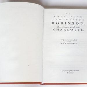 De Engelsche vrouwelyke Robinson