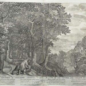 Typus victoreӕ & triumphi Christi door Nicolaes de Bruyn