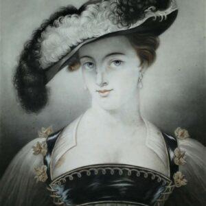 Portret Mademoiselle Lundens, Chapeau de Paille