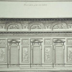 Decoration pour une Galerie door Jean-François De Neufforge