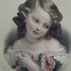 La rose door Jean Baptiste Lafosse naar Constant-Joseph Brochart