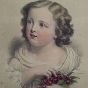 Le petit gourmand door Adolphe Jean Baptiste Lafosse, naar Louis Eugène Coedès