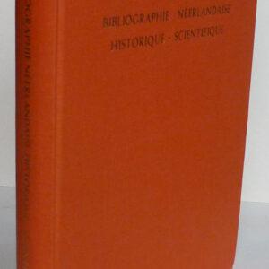 Bibliographie néerlandaise historique-scientifique – D. Bierens de Haan