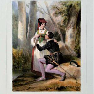 Henry IV et Fleurette door Jules David