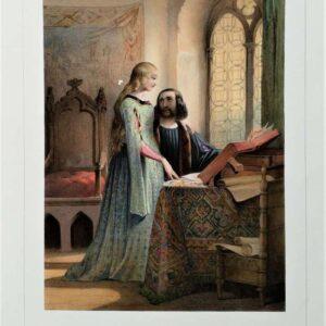 Héloise et Abeilard door Jules David
