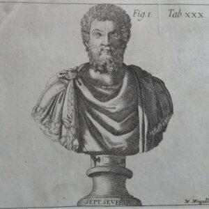 Buste van keizer Septimus Severus