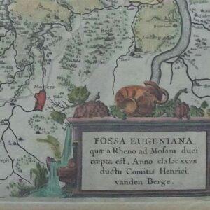 Fossa Eugeniana quae a Rheno ad Mosam