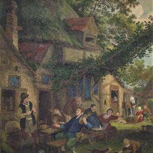 De vrolijke boeren naar Cornelis Dusart