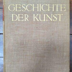 Geschichte der Kunst door Richard Hamann