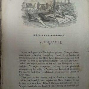 Lotgevallen van kapitein Gulliver door Jonathan Swift