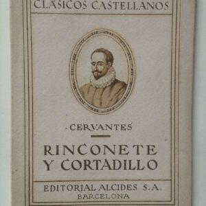 Rinconete Y cortadillo door Cervantes