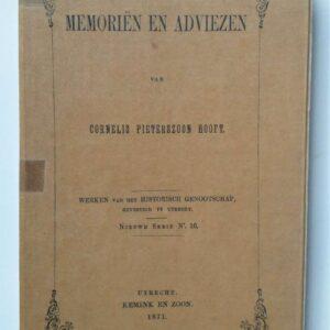 Memoriën en adviezen door Pieter Corneliszoon Hooft