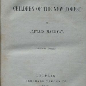 The children of the new forest door Captain Marryat.