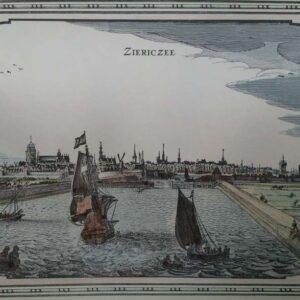 View of Ziericzee by Pieter Hendricksz. Schut