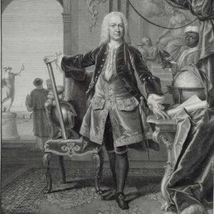 Portret van Gustaaf Willem Baron van Imhoff, door Pieter Tanjé