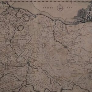 Kaart van de provincie Utrecht