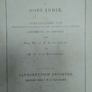 De opkomst van het Nederlandsch gezag in Oost-Indië/ over Java