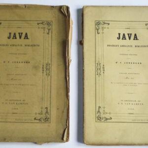 Dr. F. Junghuhn – Java. Deszelfs gedaante, bekleeding en inwendige structuur. Deel I & II