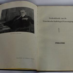 Voerman, J. (vw.) – Gedenkboek van de Utrechtse Indologen Vereeniging 1925-1950