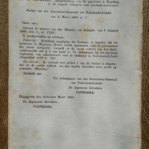 Staatsblad van Nederlands-Indië No. 56 t/m No. 63