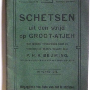 P.H.R. Beuming – Schetsen uit den strijd op Groot-Atjeh